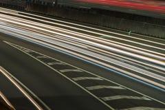 Gateway Bridge Motorway in Brisbane Stock Image