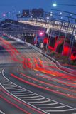 Gateway Bridge Motorway in Brisbane Stock Images