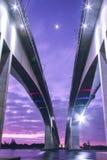 Gateway Bridge Motorway Royalty Free Stock Photo