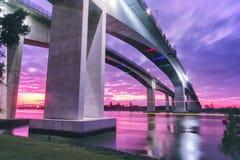 Gateway Bridge Motorway Royalty Free Stock Photos