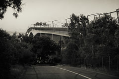 Gateway Bridge Motorway Stock Photography