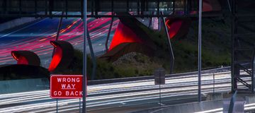 Gateway Bridge Motorway in Brisbane. Gateway Bridge Sir Leo Hielscher Bridges in Brisbane, Queensland, Australia Royalty Free Stock Photography