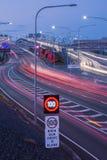 Gateway Bridge Motorway in Brisbane. Gateway Bridge Sir Leo Hielscher Bridges in Brisbane, Queensland, Australia Stock Images