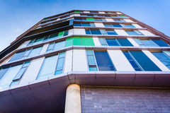 The Gateway Building at the Maryland Institute College of Art in Royalty Free Stock Photos