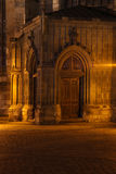 Gateway church at night Royalty Free Stock Photography