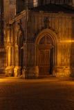 Gateway church at night Royalty Free Stock Photography