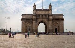 Gateway de India em Mumbai fotografia de stock