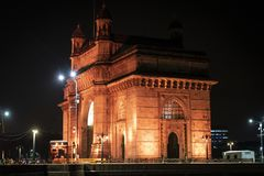 Gateway de India em Mumbai fotografia de stock royalty free