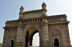 Gateway de India em Mumbai. imagens de stock royalty free