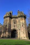 Gateway de John o'Gaunt, château de Lancaster Photographie stock