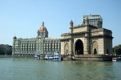 Gateway de l'Inde, mumbai Photographie stock libre de droits