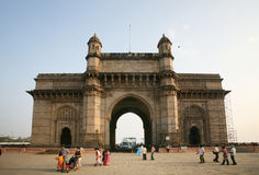 Gateway de la India, Mumbai, la India Foto de archivo