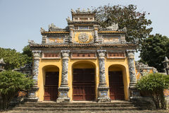 Gateway in the Forbidden Purple City in Hue, Vietnam. Stock Photos