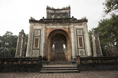 Gateway in the Forbidden Purple City in Hue, Vietnam. Stock Photos