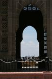 The Gateway of India. One famous monument in Bombay City. Gateway of India. Authentic architecture which gathers the east and the west Royalty Free Stock Photos