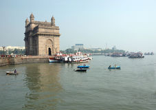 Gateway of India,Bombay (Mumbai) Royalty Free Stock Images