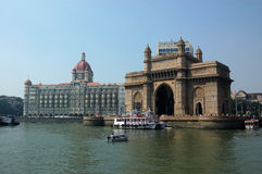 Gateway in India dal mare Fotografie Stock