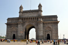 Gateway of India in Mumbai Royalty Free Stock Photography