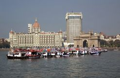 Gateway of india,mumbai,india. A view of gateway of india,mumbai,india Stock Image