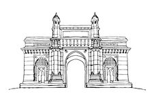 Gateway India Mumbai Stock Illustrations – 122 Gateway India