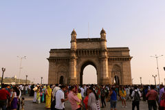 Gateway of India, Mumbai. Gateway of India is synonymous with Mumbai & the starting point for most tourists who want to explore the city. Gateway of India is a Stock Photography