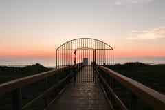 Gateway a la playa foto de archivo libre de regalías
