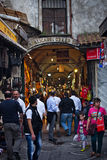 Gateway main entrance to the Grand Bazaar view in Istanbul, Turkey Royalty Free Stock Images