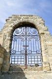 Gateway medioevale ampio Immagini Stock Libere da Diritti