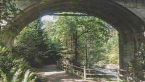 Gateway into nature Royalty Free Stock Photo