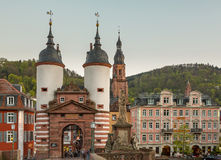 Gateway into old town of Heidelberg Germany Royalty Free Stock Photo