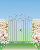 Gateway ornamental libre illustration