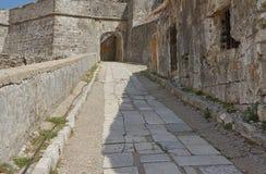 Gateway in Palaio Frourio Stock Photo