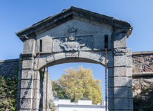 Gateway Stone Wall Colonia Sacramento Uruguay Royalty Free Stock Images