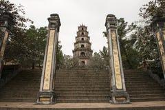 Gateway of Thien Mu Pagoda. Hue, Vietnam Royalty Free Stock Image