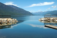 Gateway To... Picture taken along Slocan lake, British Columbia, Canada Royalty Free Stock Images