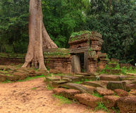Gateway to ancient Ta Som temple in  Angkor, Siem Reap, Cambodia. Stock Image