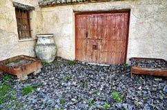 Gateway to an Andalusian farmhouse Royalty Free Stock Photos