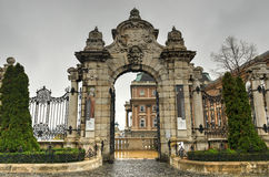 Gateway to Buda Castle, Budapest, Hungary Royalty Free Stock Image