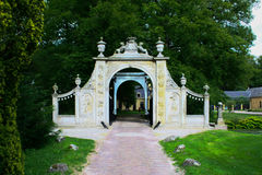 Gateway to castle Nienoord, Leek Royalty Free Stock Photos