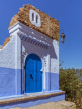 Gateway to Chefchaouen Royalty Free Stock Photos