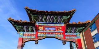 Gateway to Chinatown. Stock Photo