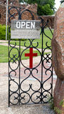 Gateway to Church. Royalty Free Stock Photography