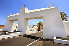 Gateway to Costa Teguise, Lanzarote Stock Photography