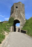 Gateway to Dover ruins Stock Images