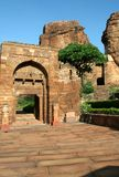 Gateway to Fort. Entry to northern fort in Badami, Karnataka, India, Asia Royalty Free Stock Image
