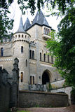 Gateway to the German castle Marienburg. Beautiful entrance into the royal castle of Marienburg (Lower Saxony, Germany Stock Photos