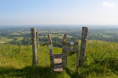 countryside stile Stock Images
