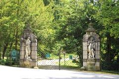 Gateway to Konopiste in Czech Republic. Royalty Free Stock Photos