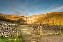 Gateway to Malham Cove Stock Image