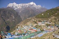 Gateway to Mount Everest Royalty Free Stock Image